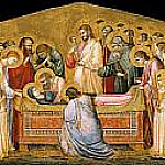 Giotto di Bondone - The Entombment of Mary