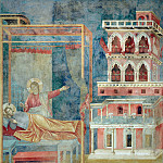 Giotto di Bondone - Legend of St Francis 03. Dream of the Palace