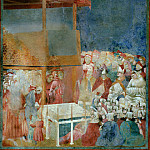 Legend of St Francis 24. Canonization of St Francis, Giotto di Bondone