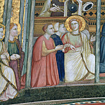 Frescoes in the crossing vault - Allegory of Obedience, Giotto di Bondone