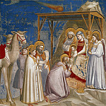 18. Adoration of the Magi, Giotto di Bondone