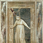 Giotto di Bondone - 47 The Seven Vices: Desperation