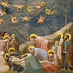 Giotto di Bondone - 36. The Mourning of Christ