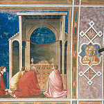 Giotto di Bondone - 10. The Suitors Praying