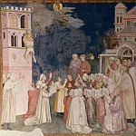 Frescoes of the north transept - The Death of the Boy in Sessa, Giotto di Bondone