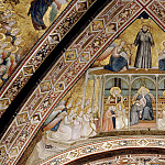 Giotto di Bondone - Frescoes in the crossing vault - Allegory of Obedience