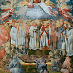 Giotto di Bondone - Legend of St Francis 20. Death and Ascension of St Francis