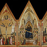 Giotto di Bondone - The Stefaneschi Triptych (recto)