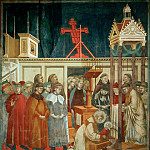 Legend of St Francis 13. Institution of the Crib at Greccio, Giotto di Bondone