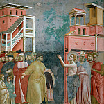 Legend of St Francis 05. Renunciation of Wordly Goods, Giotto di Bondone