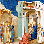 Giotto di Bondone - Frescoes of the north transept - Adoration of the Kings