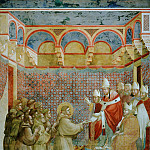 Giotto di Bondone - Legend of St Francis 07. Confirmation of the Rule
