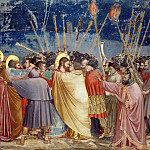 Giotto di Bondone - 31. The Arrest of Christ (Kiss of Judas)