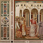 Giotto di Bondone - 27. Expulsion of the Money-changers from the Temple