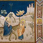 Frescoes of the north transept - The Flight into Egypt, Giotto di Bondone