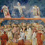 Giotto di Bondone - Legend of St Francis 22. Verification of the Stigmata