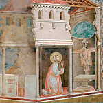 Giotto di Bondone - Legend of St Francis 04. Miracle of the Crucifix
