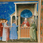 Giotto di Bondone - 09. The Bringing of the Rods to the Temple