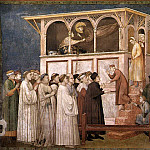 Giotto di Bondone - Frescoes of the north transept - Raising of the Boy in Sessa
