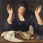 Axel Jungstedt - A young woman mourning a dead dove, a partridge, and a kingfisher