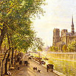 Gerard_Marie_Francois_Firmin_L_lle_De_La_Cite_And_The_Cathedral_Of_Notre_Dame, De Schryver Louis Marie