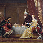 Esther, Ahasuerus and Haman