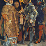 Matthias Grunewald - Meeting of St Erasm and St Maurice