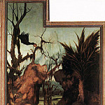 Matthias Grunewald - Sts Paul and Antony in the Desert