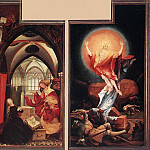 Matthias Grunewald - Annunciation and Resurrection
