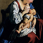 Orazio Gentileschi - Madonna and Child