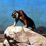 Jean-Léon Gérôme - Tiger_on_the_Watch