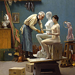 Working In Marble, Jean-Léon Gérôme