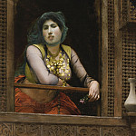 WOMEN IN BALCONY, Jean-Léon Gérôme