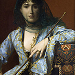 Jean-Léon Gérôme - Veiled circassian beauty