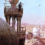 Jean-Léon Gérôme - The_Muezzins_call_to_prayer