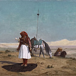 Prayer in the Desert, Jean-Léon Gérôme