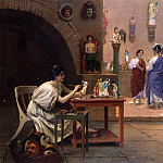 Jean-Léon Gérôme - Painting_Breathes_Life_into_Sculpture