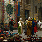 Jean-Léon Gérôme - The_Carpet_Merchant