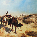 Crossing the Desert, Jean-Léon Gérôme