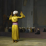 Jean-Léon Gérôme - Prayer In The Mosque