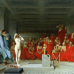Phryne before the Areopagus, Jean-Léon Gérôme