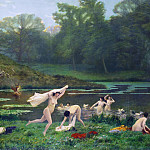 Jean-Léon Gérôme - Diana and Actaeon
