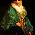 Jean-Léon Gérôme - Woman of Constantinople
