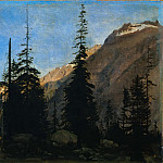 Jean Auguste Dominique Ingres - Alpine Landscape