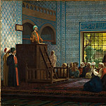 Jean-Léon Gérôme - Sermon in the Mosque (Predication dans la Mosquee)