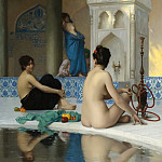 Jean-Léon Gérôme - AFTER THE BATHSOLD
