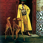 An_Arab_and_his_Dog, Jean-Léon Gérôme