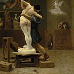 Pygmalion And Galatea, Jean-Léon Gérôme