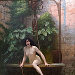 Jean-Léon Gérôme - Truth coming out of her well to shame mankind (La Vérité sortant du puits armée de son martinet pour châtier l'humanité)