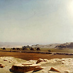 Plain of Thebes, Upper Egypt, Jean-Léon Gérôme